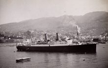 SS_Montrose_at_Funchal,_Madeira,_1934